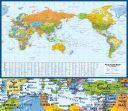 Dünya Deniz Limanlar Haritası Harita Baskı (THB001)