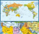 Dünya Gemi Limanı Harita Baskı (THB002)