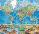 Dünya Karayolları Ulaşım Harita Baskı (THB004)