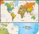 Ofis Toplantı Odası Dünya Haritası (DHB 035)