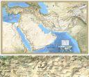 Orta Doğu Uydu Duvar Harita Baskısı (AVP014)