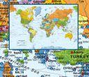 Dünya Limanlar Haritası (THB005)